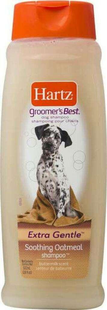 Shampoo Hartz Avena para Perros 0