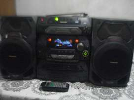 Minicomponente Panasonic Sa Ak17 Exc Sonido No Envio