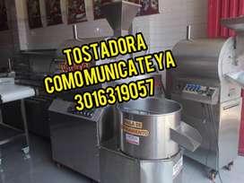 Tostadora con tanque de enfriamiento / Tostador con temperatura especial para cacao. (tostadora)