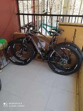 Bicicleta profit Boston x10 nueva toda de aluminio hidráulica talla M rin 29