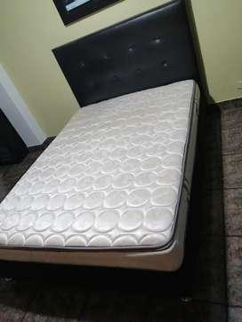 Vendo combo base cama más colchón