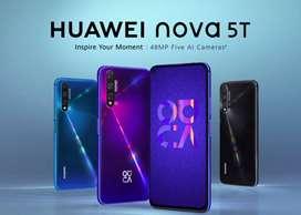 Huawei nova 5T 128gb 8gb ram SOMOS TIENDA FISICA PRECIOS CON IVA Y GARANTIA