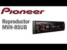 Radio Pioneer Mvh-85ub Usb Auxiliar Mp3 Originales Nuevos Garantía Sc1
