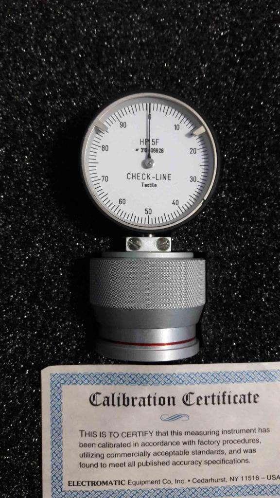 Medidor de Dureza Textil Hp 5f 0