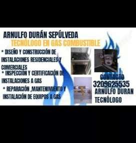 Instalaciones para gas natural técnicos certificados