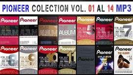 Pioneer The Album Coleccion Vol: 01 Al 14 En Mp3 (ENVIO GRATIS)