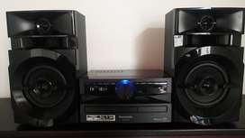 Minicomponente Panasonic AKX110  Usb Bluetooth, barato
