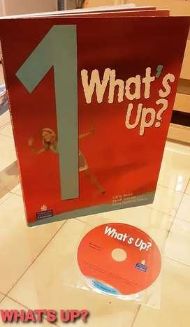 Libro de ingles + workbook What Up 1 con cd incluido