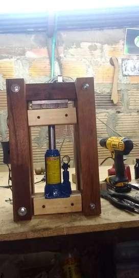 Prensa idraulica para extracción gato idraulico