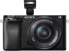 Camara Sony A6100 + lente 16-50mm