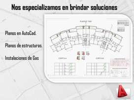Planos, Arquitectónicos en Autocad 2d 3d