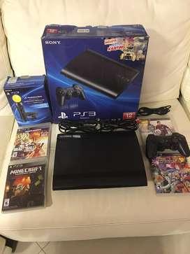 PlayStation 3 de 12 GB en excelente estado