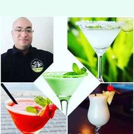 Ofrecemos servicio de bartender y meseros profesionales