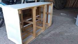 fabricasion de  casetones en madera.