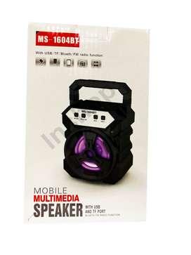 Parlante Multimedia Con Radio Fm Usb, Sd Y Bluetooth