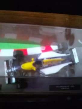 Vendo 3 autos de colección Salvat de F1