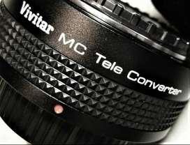 Teleconverter Vivitar 2x para Nikon