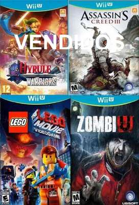 Lote Videojuegos Nintendo Wiiu Usados Perfecto Estado Originales