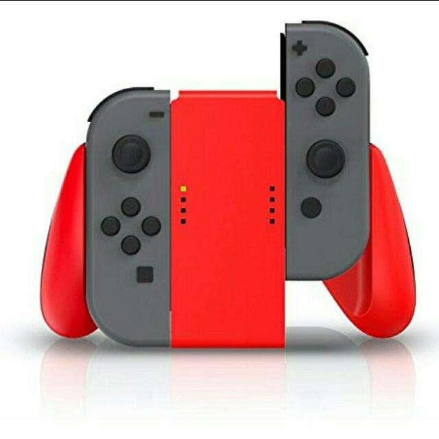 Nintendo Switch Joy-con Comfort Grip – Rojo