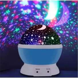 Lámpara Proyector Estrellas Giratorio- 2020