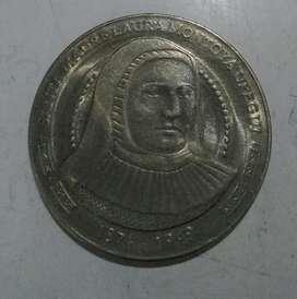 Vendo Moneda de 5000 Madre Laura Montoya
