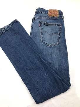 Jean levis talle 34 hombre skinny