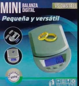 Balanza electrónica tipo joyería o industria mini