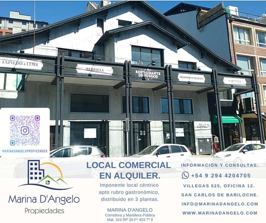 Imponente local comercial en el centro de Bariloche