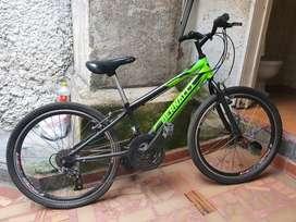 Vendo bicicleta híbrida bernalli rin 26