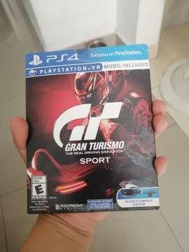 VENDO GRAN TURISMO PS4 $44.900