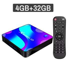 Arequipa Tv box X88 pro 10 con Android 10 64bits gamer,  movistar play deco tv Netflix youtube 4k