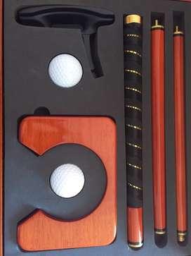 Vendo Set Golf de Oficina