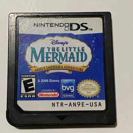 Juego Nintendo Ds The Little Mermaid