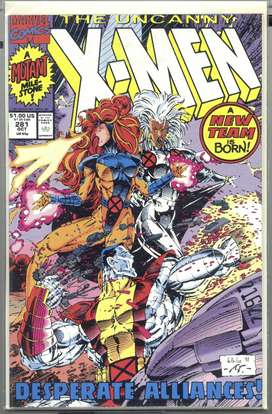 Conjunto de Revistas(comics) The Uncanny X-Men #s 281 - 286, 2011, en inglés