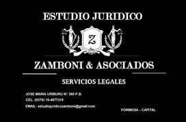ABOGADO FORMOSA - SERVICIOS JURIDICOS