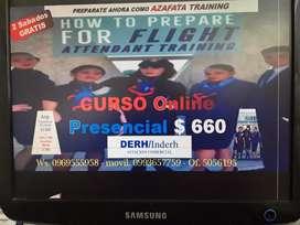 !! AZAFATA TRAINING CURSO ONLINE PRESENCIAL SUPERIOR