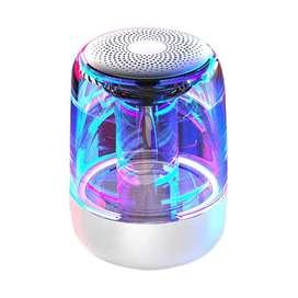 Parlantes Bluetooth 5.0 Subwoofer + Tweeter de Alta Fidelidad y Luz Led