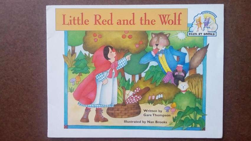 Cuento en Ingles Little Red and The Wolf 0