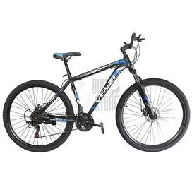 Bicicleta aro 29 de aluminio componentes SHIMANO