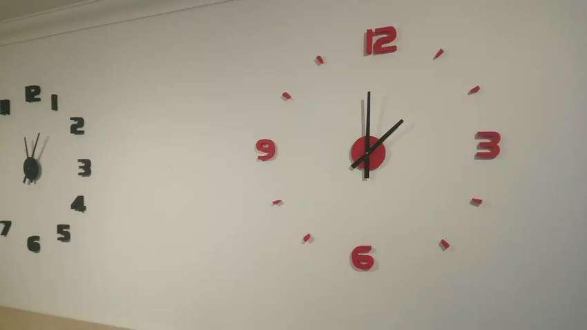 Vendo Reloj Gigante 3D