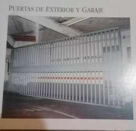 Puerta industrial de seguridad electrónica