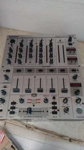 Mezclador de audio
