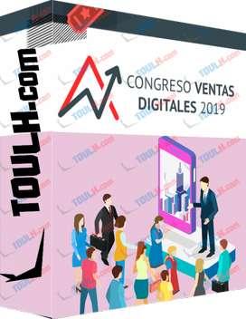 curso virtual;  congreso online internacional de ventas digitales