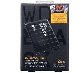 DISCO DURO EXTERNO 2TB GAMER WD P10 USB 3.0