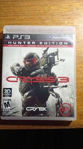 Cryisis 3 Hunter edition físico
