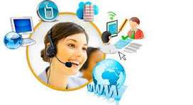 Comunicación por llamadas para ofrecer servicios