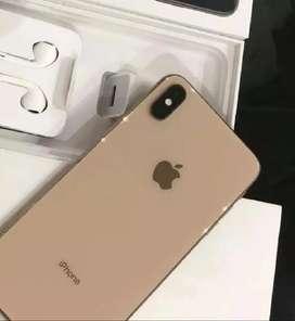 iPhone xs dorado de 64gb en caja como nuevo + Accesorios