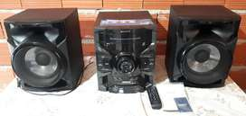 Equipo sony 5500w impecable c/usb
