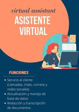 Asistente administrativa - asistente virtual