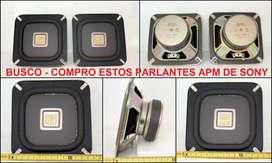 Bafles Parlantes SONY APM-909, APM-606 ó APM-215